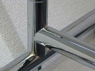 ダブルハンガーラック重量用2段135cmイメージ4・金属部品のみ使用完全溶接
