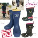 ★sale 今だけ!!!!!★イギリス発 NYで大流行 英国ブランド Joules ジュールズ Rain Boots レインブーツ 防水 英国フラグ ブラックxピン…