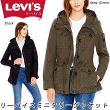 LEVI'Sフード付きミッドウェイトミリタリージャケット