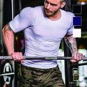 【送料無料】加圧シャツ メンズ 送料無料 加圧インナー 加圧Tシャツ 男性 背筋補正ス