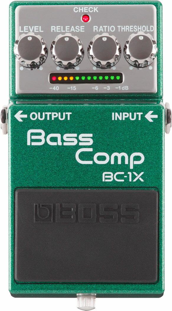【ウインターキャンペーン:ピンバッチプレゼント!】BOSS / BC-1X Bass Compressor