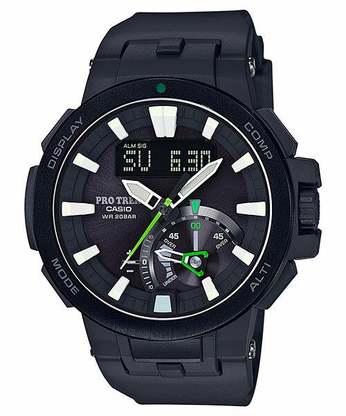 国内正規品 CASIO PRO TREK カシオ プロトレック 電波ソーラー メンズ腕時計 PRW-7000-1AJF