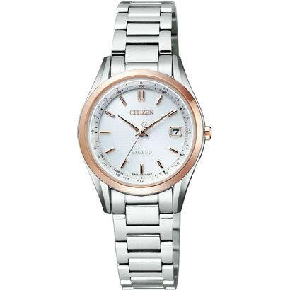 CITIZEN EXCEED シチズン エクシード ワールドタイム電波時計 レディース腕時計 ES9374-53A