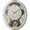 RHYTHM リズム時計 クロック Disney ディズニー 電波掛け時計 からくり時計 キャラクター時計 ミッキー&フレンズM509 4M...