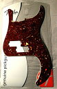 Fender ピックガード Pure Vintage Pickguard, '63 Precision Bass(R), 13-Hole Mount, Brown Shell, 3-Ply