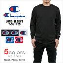 チャンピオン 長袖 Tシャツ CHAMPION T-SHIRTS メンズ 大きいサイズ USAモデル 無地 ワンポイント ロゴ 長袖Tシャツ ロンT レディース...