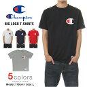 20%オフ チャンピオン Tシャツ CHAMPION T-SHIRTS ビッグロゴ Tシャツ メンズ 大きいサイズ champion メール便あす楽対応