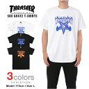20%オフ! スラッシャー Tシャツ メンズ レディース THRASHER SK8GOAT FLAME フレイムロゴ 日本規格 大きいサイズ LOGO プリント...