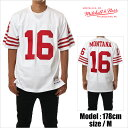 MITCHELL&NESS フットボールシャツ ミッチェル&ネス フットボールシャツ ゲームシャツ JERSEY ジャージ フットボールジャージ 49ERS ..