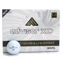 アドバイザー advisor ゴルフボール(12ピース) ゴルフボール ADXD12P 12ピース 4939887720366 WHITE(ホワイト) メンズレディース