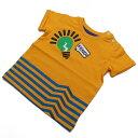フェンディ (FENDI) ベビーTシャツ ベビー服 BMI060 ST8 F0EU5 オレンジ系