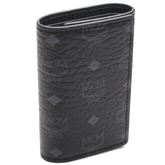 MCM elegante (MCM) 4-key case MXK5AVI34-BK001 black.
