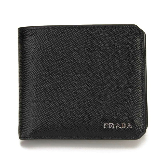 2M0738 QTD F0002黑色派定价附带普拉达 PRADA 对开...