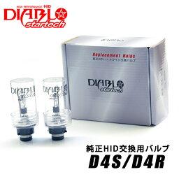 <strong>ハイエース</strong>(マイナー後 H22.7〜H24.4)TRH200系 純正交換用HIDバルブ D4C D4S D4R 内圧20%アップ