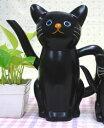 ◆ ねこのしっぽの物語 ねこのじょうろ クロ P76【猫/キャット/ランドリー/雑貨/家庭用品/人気】【P20】20P03Dec16
