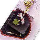 まるで本物のような和菓子ストラップ!!◆ミニチュア和菓子シリーズ和菓子根付けストラップ錦玉葵 AR0501117