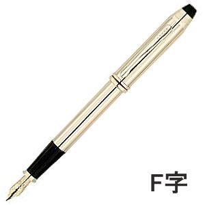 【送料無料】☆◆ CROSS. (クロス) タウンゼント 10金張 万年筆 (F字) ♯706DF あなたのお手元を華やかに演出致します!