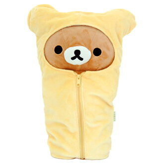 -Sleeping bag with rilakkuma kuttari rilakkuma plush MD18201