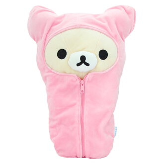 -Sleeping bag with kuttari rilakkuma korilakkuma plush MD18301