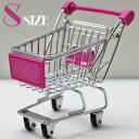 ◆ ミニカートストレージバスケット ピンク (S) AR0526010【インテリア/部屋/アクセント/小物入れ/カート】