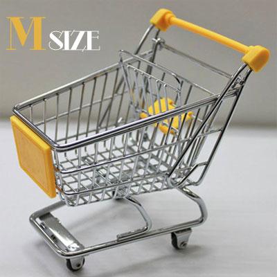 ◆ ミニカートストレージバスケット イエロー (M) AR0526016【インテリア/部屋/アクセント/小物入れ/カート】