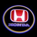 「LEDドアロゴ」*2個セット*HONDAホンダ 用 ドアロゴ レーザー LED スポットライト/SHADOW LIGHT /LOGO(プロジェクター方式)/ド...
