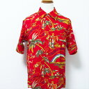 "【スペシャルフェアー!!】【送料無料】 SUN SURF サンサーフ SPECIAL EDITION  HAWAIIAN SHIRT ""LAND OF HAWAII DISCOVERED"""