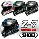 ショウエイ Z-7 DOMINANCE ゼットセブン ドミナンス フルフェイス ヘルメット SHOEI Z7