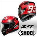ショウエイ Z-7 MARQUEZ3 マルケス3 マルクマルケス選手2015シーズンレプリカフルフェイスヘルメット SHOEI Z7