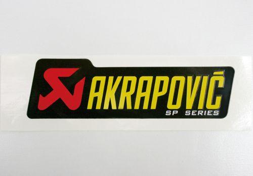 AKRAPOVIC アルミ耐熱ステッカー 横 4...の商品画像