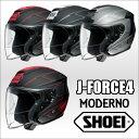 SHOEI J-FORCE4 MODERNO ジェイフォースフォーモデルノ オープンフェイスヘルメット ジェットヘルメット ショウエイ