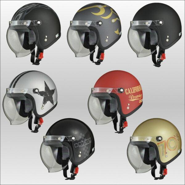 リード工業 LEAD MOUSEE シールド付きスモールジェットヘルメット ムース...:bike-crest:10000087