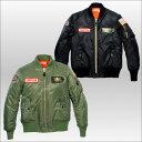 SIMPSON MA−1タイプレディースジャケット Ladies Line MA-1 Type Jacket sj-5137l