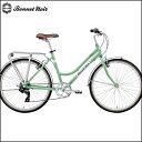 ボネ ノワール クロスバイク ALIZE TR2【26inch】【女性用】【外装変速】【街乗り】【自転車】【BONNET NOIR】