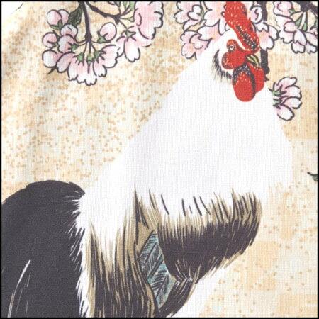 【※ポイント10倍】2016パールイズミプリントジャージ桜と尾長鶏【春夏】【和柄ジャージ】【数量限定】【PEARLIZUMI】【SAKURA】【尾長鳥】【S621-B】【※04/0108:59まで】