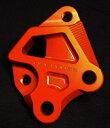 シグナスX(CYGNUS-X)SEA5J/16年〜 BREMBO(ブレンボ)40mmピッチ 245mmフロントディスク用キャリパーサポート オレンジ DOG HOUSE