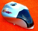 タンクプロテクター カーボン綾織 CLEVER WOLF RACING(クレバーウルフレーシング) ホーネット250(HORNET)