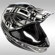 HJH053 CL-MX スタッガー ブラック S オフロードヘルメット HJC(エイチジェイシー)