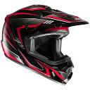 HJH123 CS-MX2エッジ オフロードヘルメット ホワイト/ブラック L(59-60)サイズ HJC