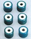 アクシス90(AXIS) ヤマハウエイトローラーセット Φ15×t12/6個入 6.5g NRマジック