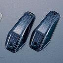 エアロシャープミニウインカー補修スペアレンズ2個 スモーク 車種汎用 POSH(ポッシュ)