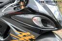 GSX1300R(隼)08年〜 フロントウィンカーカバー 左右セット ドライカーボン 綾織り艶あり SSK(エスエスケー)