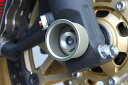 VFR1200F(SC63) 耐久アクスルカップ M18 ハードアルマイト TSR(テクニカルスポーツ)