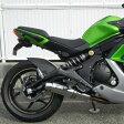Ninja400(ニンジャ)EBL-EX400E フルエキゾーストマフラー ラウンドタイプ ステンレス JMCA認証 WR'S(ダブルアールズ)