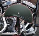 ダックテール ヘルメット ブラック ハーレー ナックル ショベル