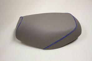 グロンドマンGR14HC70P50グロンドマン国産シートカバーグレー/青パイピング被せリトルカブシートカバーリトルカブグロンドマンGR14HC70P50