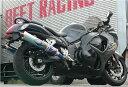 GSX1300R隼 マフラー BEET 0254-S36-50 NEW NASSERT-R T2 スリップオン マフラー チタン/クリアチタン GSX1300R隼