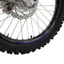 Z-Wheel W50-1302 リムステッカーキット ブルー 青 17-19インチ