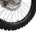 Z-Wheel W50-1304 リムステッカーキット グリーン 緑色 17-19インチ