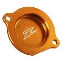 ZETA ジータ ダートフリーク ZE90-1447 オイルフィルターカバー KTM450/505EXC/SX'07-12 オレンジ
